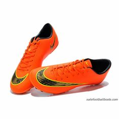 best website 77ea2 c4b52 Nike Mercurial Victory V TF Dark Orange Black Gold  61.99