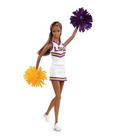 Look what I found on #zulily! LSU Tigers Barbie Doll by Barbie #zulilyfinds