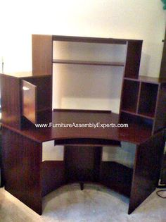 Realspace Magellan Collection Corner Workstation installed in Washington DC by Furniture Assembly Experts Company