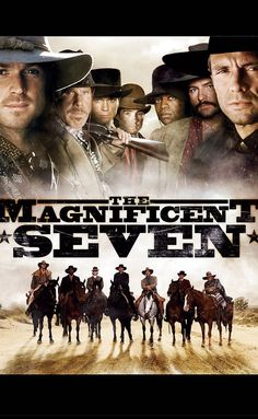 I know this was a short lived series. But it's still a show you can watch over. The Magnificent Severn series Movies Showing, Movies And Tv Shows, Magnificent Seven Movie, Rick Worthy, Dale Midkiff, Eric Close, Netflix Dvd, Laurie Holden, Persona