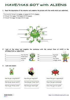 Une petite activité en anglais pour aborder la description et le schéma corporel en anglais.                                                                                                                                                                                 Plus