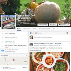 #CasoModello: linea editoriale incentrata sulla gastronomia locale con post, note e fotografie. Ecco la pagina Facebook del Harvest Moon B&B