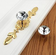 Drawer Knobs Pulls Handles Rhinestone Silver Gold Clear Dresser Knobs Glass Kitchen Cabinet Knobs Door Knobs Furniture Bling Back Plate