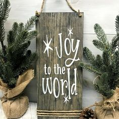 Christmas Wooden Signs, Christmas Wood Crafts, Farmhouse Christmas Decor, Christmas Art, Holiday Crafts, Winter Wood Crafts, Holiday Signs, Rustic Christmas Decorations, Xmas