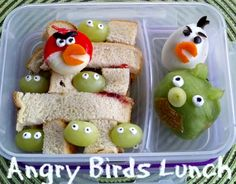 Angry Birds Lunch Recipe Photo