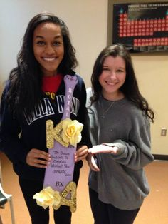 Paddle made by our lovely sister in our AST Beta Mu chapter!