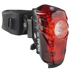 The USB-rechargeable NiteRider Solas 100 has two powerful LEDs and four modes so you can adapt to any riding environment and stay visible wherever your wheels take you. Available at REI, 100% Satisfaction Guaranteed.