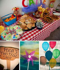 Winnie the Pooh and Friends Birthday Party Ideas | Photo 6 of 9 | Catch My Party