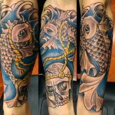 250 Most Beautiful Koi Fish Tattoo Designs And Meanings cool  Check more at http://fabulousdesign.net/koi-fish-tattoo-designs/