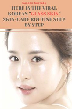 """""""Glass skin"""" essentially refers to a perfectly smooth and intensely hydrated com. - """"Glass skin"""" essentially refers to a perfectly smooth and intensely hydrated complexion with an - Skin Care Routine For 20s, Skin Routine, Younger Skin, Younger Looking Skin, Skin Care Regimen, Skin Care Tips, Organic Skin Care, Natural Skin Care, Natural Beauty"""