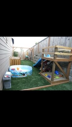 Plans for building a platform for a DIY slide! | DIY: Toys ... on toddler spring ideas, toddler photography ideas, toddler storage ideas, toddler room ideas, toddler birthday ideas, toddler christmas ideas, toddler breakfast ideas, toddler painting ideas, toddler gardening ideas, toddler playground ideas, toddler pool juice ideas, toddler halloween ideas, toddler parties ideas, toddler art ideas, toddler party ideas, toddler craft ideas, toddler bed ideas, toddler closet ideas, toddler bathroom ideas, toddler bedroom ideas,
