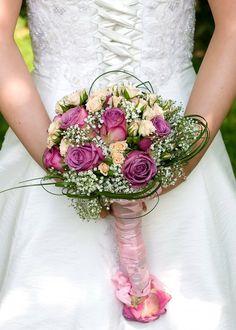 Brautstrauß lila