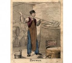 Box Canvas Print (other products available) - A brewer at work making beer. (Photo by Hulton Archive/Getty Images) - Image supplied by Fine Art Storehouse - inch Box Canvas Print made in the UK Home Brew Beer Kit, Home Brewing Beer, Homemade Alcohol, Homemade Beer, How To Make Beer, How To Make Homemade, Distilling Alcohol, Design Thinking Process, Renaissance Era