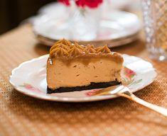 cheesecake de doce de leite com oreo — o chef e a chata