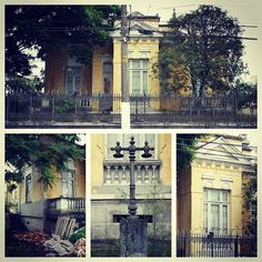 Decay mansion from 1872 in the city of Taubate  Sao Paulo state / Brazil