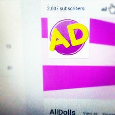 Whaaaaat?! Thank you so much for over 2000 subscribers!! YouTube: http://youtube.com/c/alldolls  #youtube #youtubevideo #yt #youtubechannel #subscribers #video #youtuber #barbie #barbielook #barbiecollector #barbiedoll #barbiefashion #barbiefashionista #barbiestyle #barbiephotography #barbiegram #mattel #dollgram #dollcollector #dollphotography #dg #dollstagram #littlestpetshop #lps #lpsgram #lpstrade #lpstube #lpstuber #lpsphotography #review by all.dolls