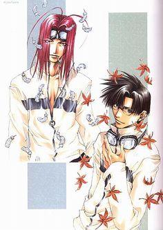 Saiyuki ~~ Men of Autumn :: Gojyo & Hakkai