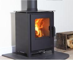 8KW Loxton 8 SE Multi Fuel Stove | Buy Modern Multi Fuel Stoves Online | UK Stoves