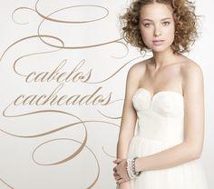Confira penteados para noivas de cabelos cacheados