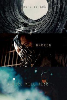 The Dark Knight Rises Dark Knight Quotes, The Dark Knight Trilogy, The Dark Knight Rises, Batman The Dark Knight, Chris Nolan, Christopher Nolan, Tom Hardy Bane, Gotham News, Everything Film