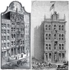 Chicago Evening Journal Building about 1885