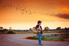 Struggling Little Musician by Elena Paraskeva on 500px