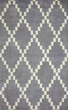 Rugs USA Savanna RE36 Trellis Grey Rug Modern, home decor, interior design, style, create, home, house, modern, bold.