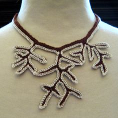 Tree of Life Necklace with Snow