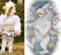 Family Halloween Costume Idea #3: Where the Wild Things Are