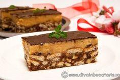 Cubes with cream caramel | Cuburi cu crema caramel | Diva in bucatarie