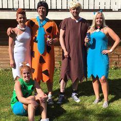 flintstones costume cartoon - Flinstones Halloween