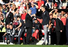 Plenty of United supporters were quick to suggest the Chelsea and Liverpool bosses would have been applauded - not sent off - for doing exac. Latest Nigeria News, Manchester United Fans, Double Standards, Southampton, Liverpool, Chelsea, The Unit, Chelsea Fc, Chelsea F.c.