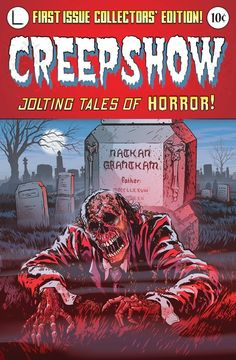 Creepshow (1982) Movie comic art