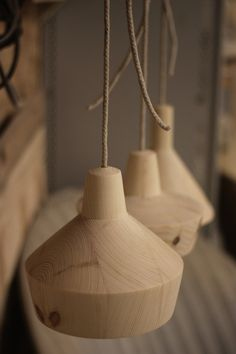 """""""A few prototype shapes for an upcoming new set of pendant lamps!….."""""""