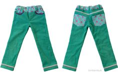 Tochterhose aus Mutterhose / Daughter's pants made from mother's pants / Upcycling
