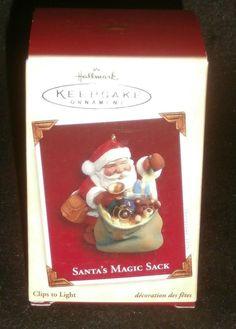 Hallmark Keepsake Christmas Ornament Santa's Magic Sack #QXG4465 NEW IN BOX…