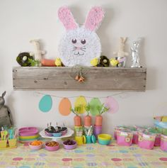 Hosting an Easter party? Need some inspiration? This party is full of spring colors and Easter items that is sure to make your Easter get-together a success. Easter Hop from mycreativedays.com.