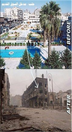Henry Lowendorf, a member of the Executive Board of the U. Syria Pictures, Syria Before And After, Aleppo City, Places To Travel, Places To Visit, Dubai City, World Cities, Historical Pictures, Abandoned Places