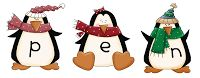1st Grade Learning Stars: Penguin Making Words