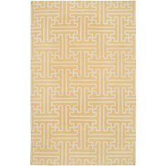 Smithsonian Rugs Archive Yellow/Ivory Rug | Wayfair