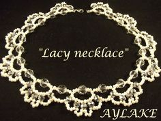 """How to do """"Lacy Necklace"""""""