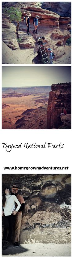 Utah is known for its amazing national parks. However, there are more amazing things to see outside of national parks. Here we share 3 amazing things to do near Moab, Utah. http://www.homegrownadventures.net/beyond-national-parks/