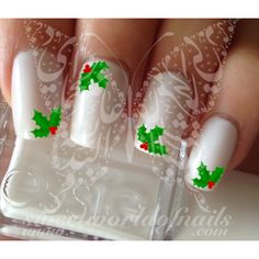 water decals in different sizes to fit all your nails! Use: 1-Trim,clean then paint your nails with the color you want. 2- cut out the pattern and plunge it into water for 10 - 20 seconds. (use warm w