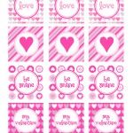 Free Valentines Day Printables  cupcake toppers  @Printable Party Shop  http://www.printablepartyshop.com