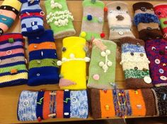 Twiddlemuffs! Dementia patients.