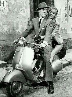 "Gene Kelly & Barbara Laage in Film ""Happy Road"" 1957."