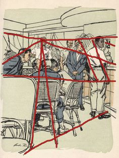 More mid-50's illustrations by Austin Briggs