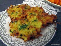 Mijn mixed kitchen: Patates mücveri (Turkse gebakken aardappelkoekjes)