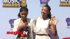 Chloe & Halle Radio Disney Music Awards 2014 Red Carpet #RDMA