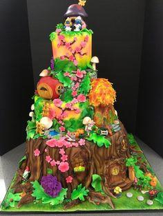 Fairy Wonderland Wedding Cake  Cake by Over The Top Cakes Designer Bakeshop
